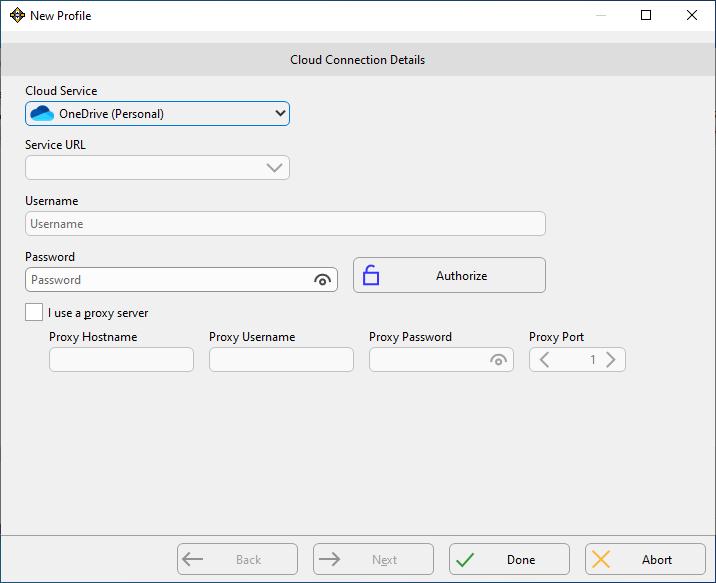 Microsoft OneDrive Backup